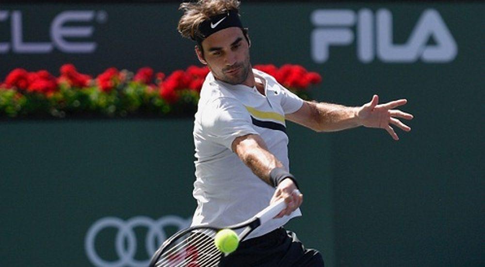 Federer vào vòng bốn Indian Wells