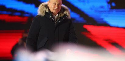 Thắng áp đảo, Putin lần thứ 4 đắc cử tổng thống Nga