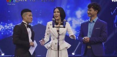 Đạo diễn Kawaii Tuấn Anh xúc động khi Mỹ Tâm nhận giúp giải 'Cống hiến 2018'