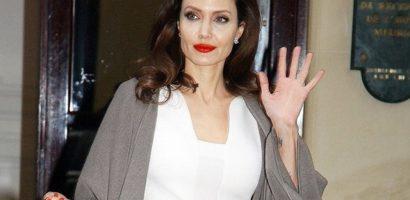 Angelina Jolie phủ nhận hẹn hò với doanh nhân bất động sản