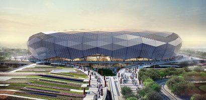 Vua Saudi Arabia hứa xây SVĐ lớn nhất thế giới cho Iraq