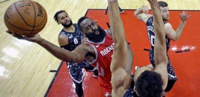 Thua Rockets, Spurs bật khỏi top tám miền Tây