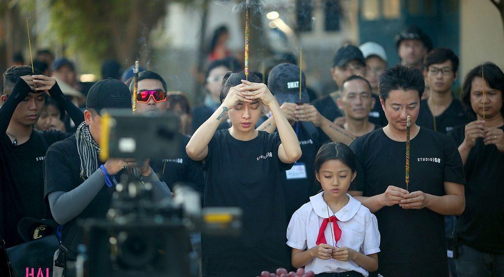Xuất hiện giản dị, Ngô Thanh Vân chính thức trở lại trong vai diễn hành động cuối cùng