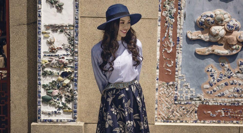 Diễn viên Lê Lộc dịu dàng, khoe vẻ đẹp tràn đầy sức sống