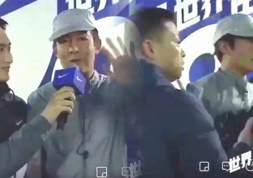Trần Quán Hy bị cảnh sát lôi đi giữa lúc đang quay trực tiếp