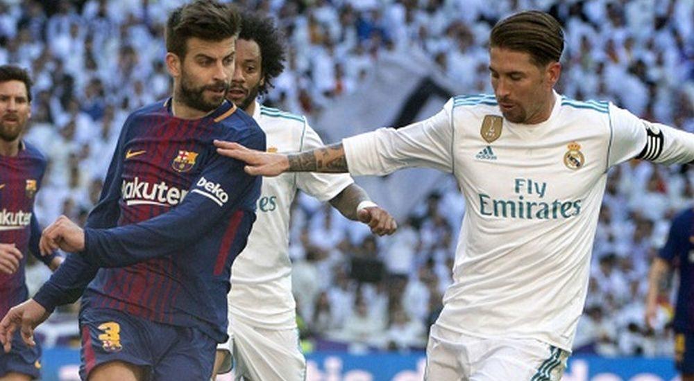 Pique gửi tin nhắn châm chọc các cầu thủ Real