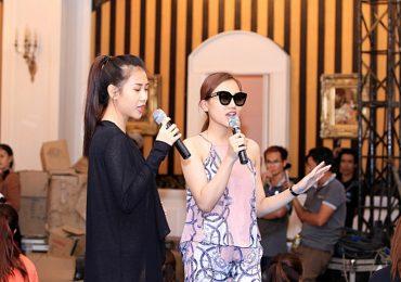 'Nữ hoàng sắc đẹp' Hoàng Thu Thảo muốn lấn sân sang lĩnh vực ca hát