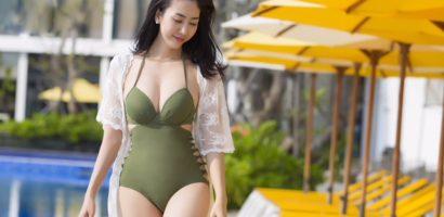 Người đẹp làng thiết kế thời trang Nhật Phượng khoe đường cong hoàn hảo