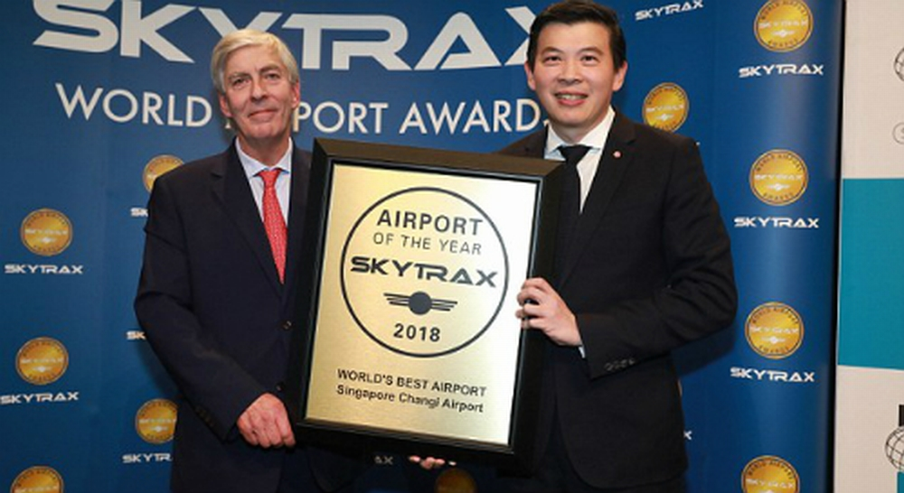 Changi Singapore tiếp tục là sân bay tốt nhất thế giới