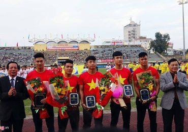Cầu thủ U23 Việt Nam gây chú ý ở Giải U19 quốc gia