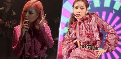 Nữ ca sĩ 'Người lạ ơi' diện trang phục nhái Chi Pu?