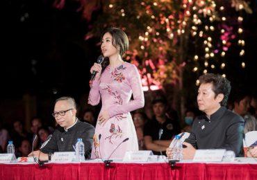 Hoa hậu Mỹ Linh là giám khảo trẻ tuổi nhất của 'Duyên dáng Áo dài'