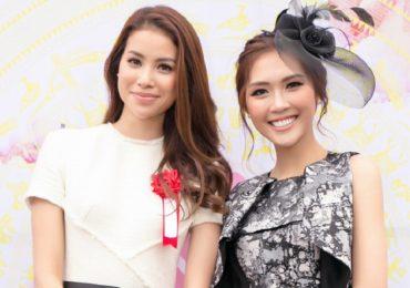 Phạm Hương, Tường Linh thân thiết cùng tham gia 'Lễ hội giao lưu văn hóa Việt – Nhật'