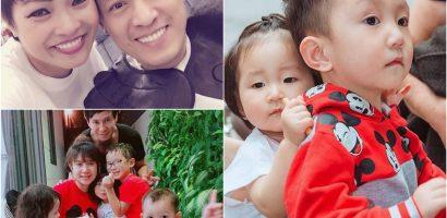 Phương Thanh đưa Lam Trường đi cắt tóc, nhóc tỳ nhà Tuấn Hưng khiến fan 'thả tim' không ngừng
