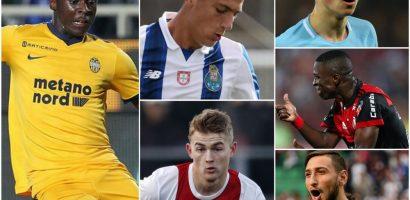 Đội hình 11 ngôi sao trẻ xuất sắc của bóng đá thế giới
