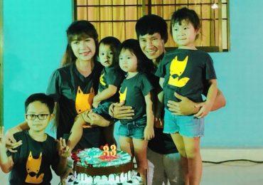Sinh nhật ấm cùng của Minh Hà bên chồng con
