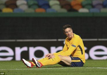 Atletico vẫn vào bán kết Europa League dù thua ở lượt về