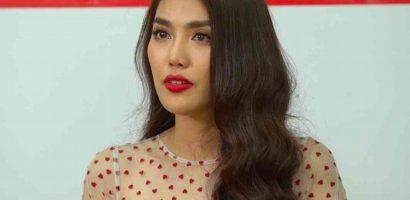 Lan Khuê khóc chia sẻ chuyện tình yêu với thí sinh casting show hẹn hò