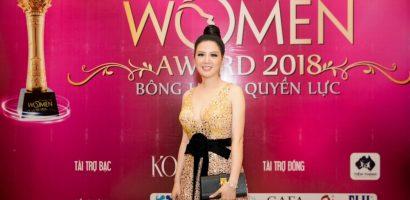 Hoa hậu, ca sĩ Đinh Hiền Anh được vinh danh giải thưởng 'Bông hồng quyền lực 2018'