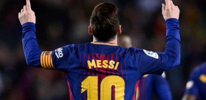 Messi ghi hat-trick, Barca lập kỷ lục bất bại ở La Liga