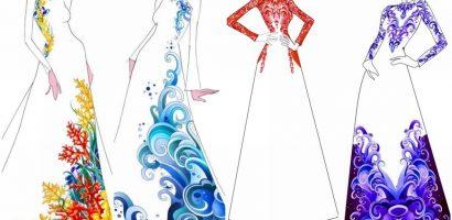 Hé lộ thiết kế áo dài đặc biệt cho chung kết 'Hoa hậu Biển Việt Nam Toàn cầu 2018'