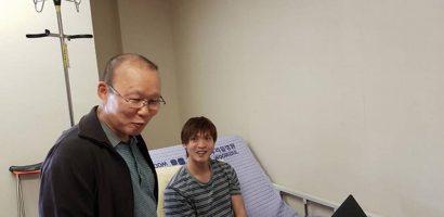 HLV Park Hang-seo thăm hỏi, động viên Tuấn Anh ở Hàn Quốc