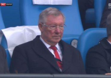 Sir Alex Ferguson giận đỏ mặt khi MU thủng lưới 2 bàn