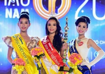 Xem lại khoảnh khắc đăng quang của Hoa hậu Việt Nam 2014