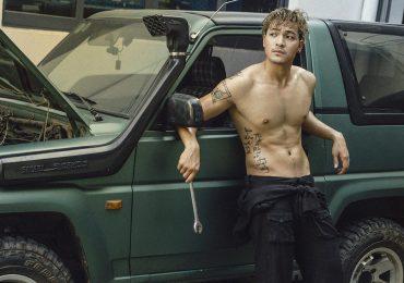 Người mẫu Vũ Tuấn Việt khoe body đẹp, đốn tim người xem