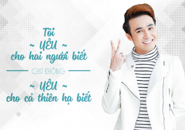 Huỳnh Lập: 'Tôi không yêu cho cả thiên hạ biết'