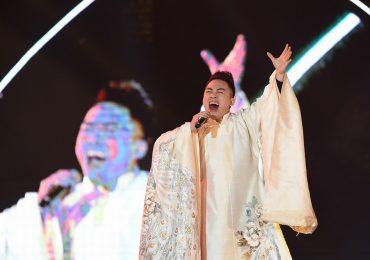 Anh Khoa, Tùng Dương, Kiều Anh 'đốt cháy' sân khấu Carnaval Hạ Long