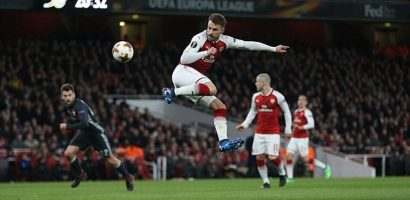 Arsenal đặt một chân vào bán kết sau trận 'đá tập' với CSKA Moscow