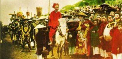 Lễ giổ Tổ Hùng Vương 87 năm trước diễn ra như thế nào?