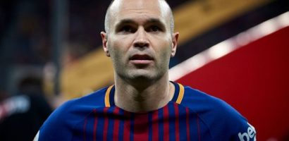 Andres Iniesta chính thức nói lời từ biệt Barca
