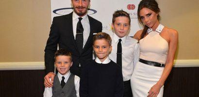 Gia đình hạnh phúc của vợ chồng Beckham và 4 người con sau 20 năm