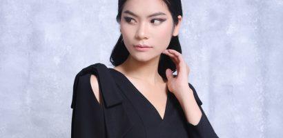 Kim Dung 'Next Top' điệu đà với 'em-mê-nơ' của Larenn