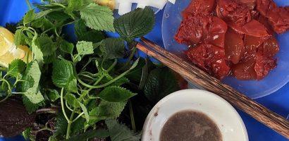 Sứa đỏ – món ăn mát lành tháng giao mùa ở Hà Nội