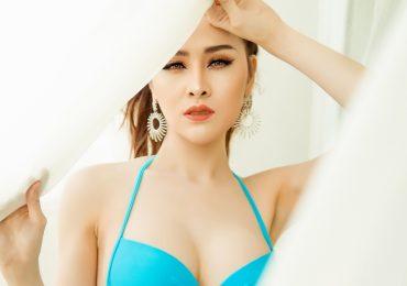 Thư Dung khoe body bốc lửa trước ngày lên đường thi 'Miss Eco International 2018'