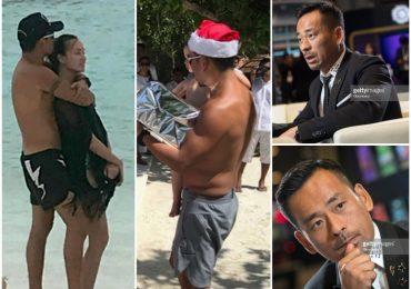 Bỏ mặc vợ con, tỷ phú sòng bài ôm ấp 'vợ bé' ở biển Maldives dịp năm mới