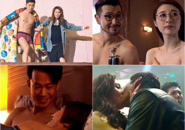 Cảnh 'nóng' gây xôn xao trong phim TVB 2017