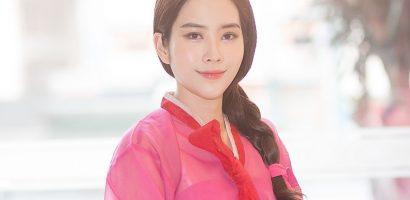 Nam Em mặc Hanbok, đẹp rạng ngời tại sự kiện
