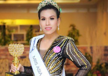 Trần Vỹ Phương Uyên đăng quang Hoa hậu Hữu nghị Châu Á 2018
