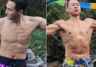 Trương Trí Lâm, Trương Phong Nghị thi nhau khoe cơ bắp