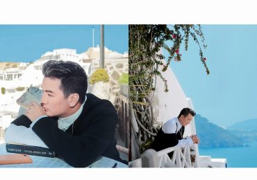 Đàm Vĩnh Hưng tung bộ ảnh tại Santorini đẹp đến nao lòng