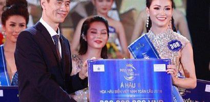 Người đẹp đoạt giải 'Á hậu 2 – Hoa hậu Biển Việt Nam Toàn cầu 2018' là ai?