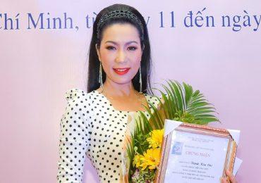 NSƯT Trịnh Kim Chi giành giải Vàng diễn xuất tại 'Liên hoan Kịch nói toàn quốc 2018'