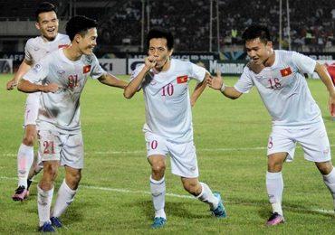 Tuyển Việt Nam vào bảng 'dễ thở' ở AFF Cup 2018