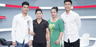 Duy Mạnh và Đình Trọng của đội tuyển U23 VN bất ngờ xuất hiện tại 'Là vợ phải thế'