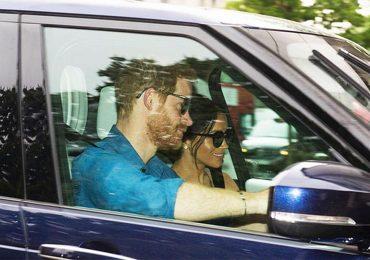 Vợ chồng Hoàng tử Harry lần đầu lộ diện sau đám cưới
