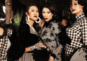 Vân Trang, Trương Thị May và Trang Trần ấn tượng trong BST 'Sài Gòn phù hoa'